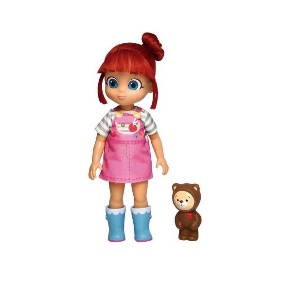 Boneca Grande Rainbow Ruby E Urso Ursinho Choco Baby Brink