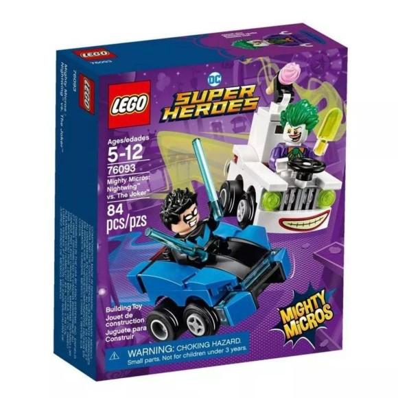 LEGO MIGHTY MICROS ASA NOTURNA VS CORINGA - 76093