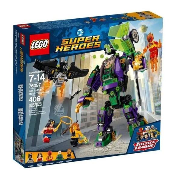 Brinquedo LEGO Super Heroes Robô Do Lex Luthor 76097