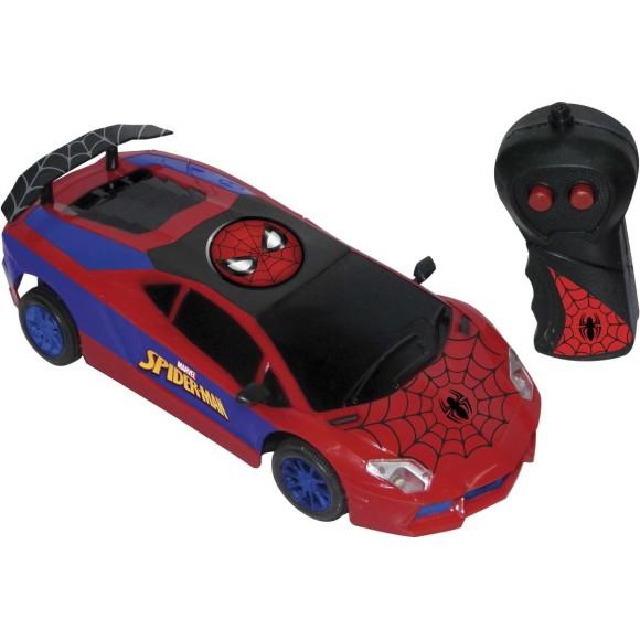 Carro Com Controle Remoto Spider Man Ultimate 3 Funções - Candide
