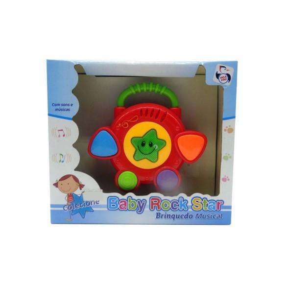 Brinquedo musical - Baby Rock Star - Tambor