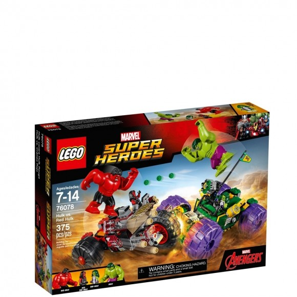 76078 LEGO HULK CONTRA HULK VERMELHO