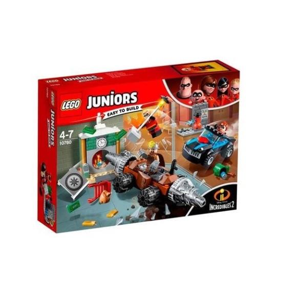LEGO JUNIORS - 10760 - O HOMEM DA MINA ASSALTA O BANCO