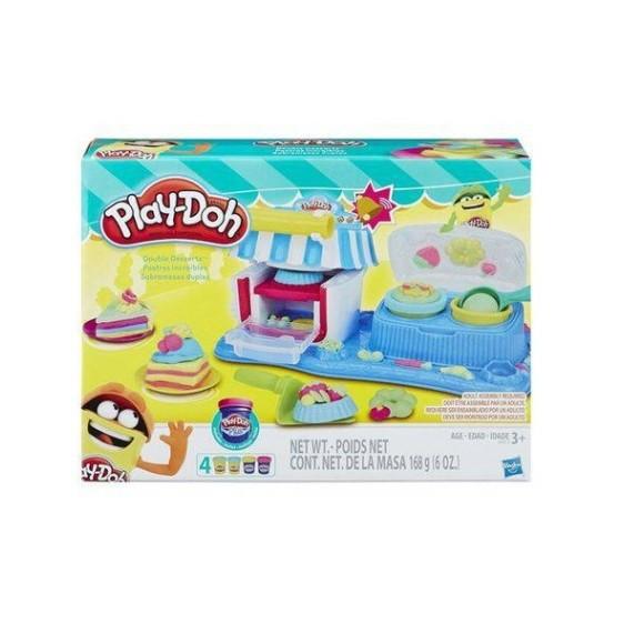 Kit De Massinhas – Brinquedo Conjunto – Play-Doh Sombremesas Duplas – Hasbro - A5