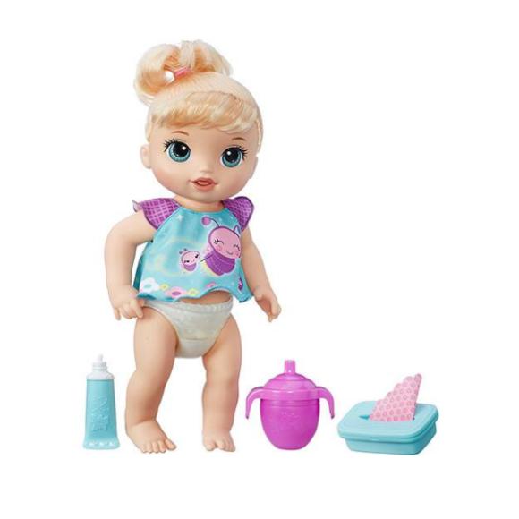 Boneca Baby Alive Fralda Mágica Loira