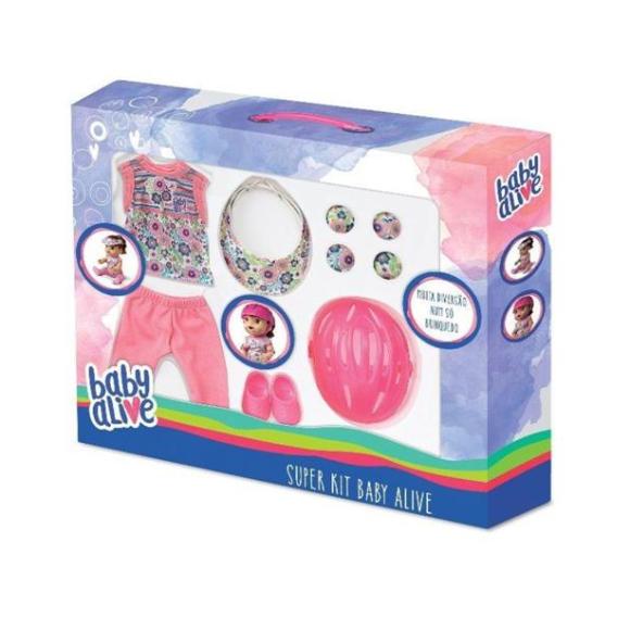 Super Kit Esportivo Para Baby Alive - Hasbro - Laço de Fita