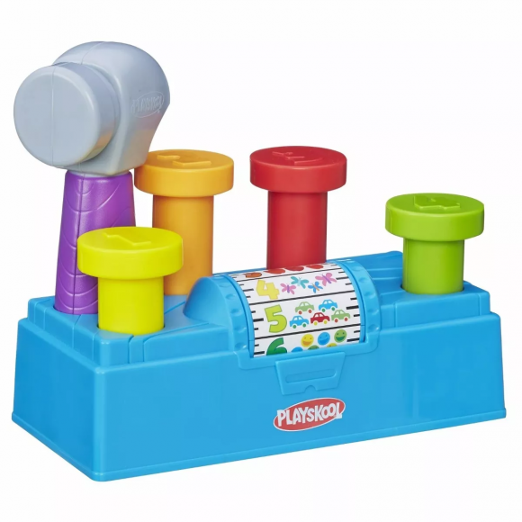 Playskool-Martelar E Aprender bancada de atividades Hasbro A7405