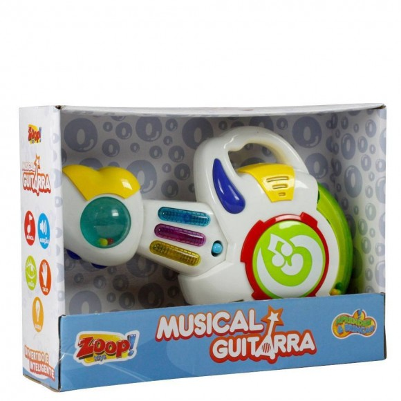 Musical Guitarra Verde E Vermelho Zoop Toys