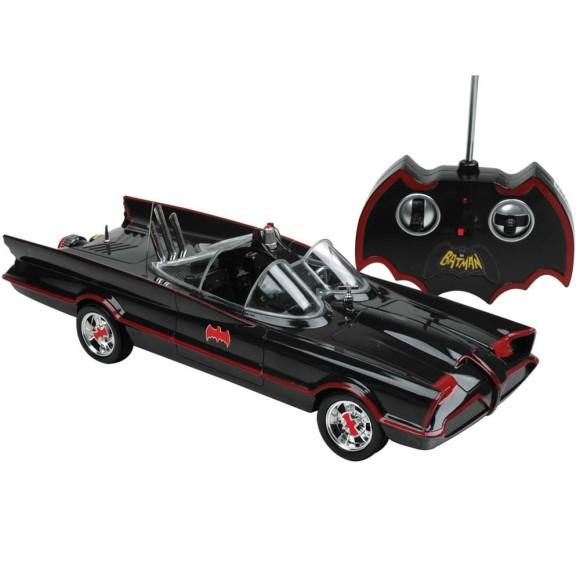 Rádio Controle Batman - Batmóvel Clássico Série TV Bateria Recarregável 7 Funções - Candide