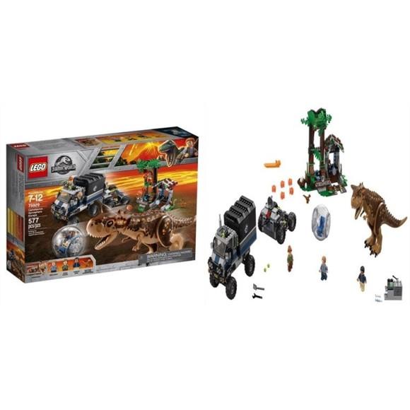 LEGO Jurassic World A Fuga Da Girosfera Do Carnotauro 75929