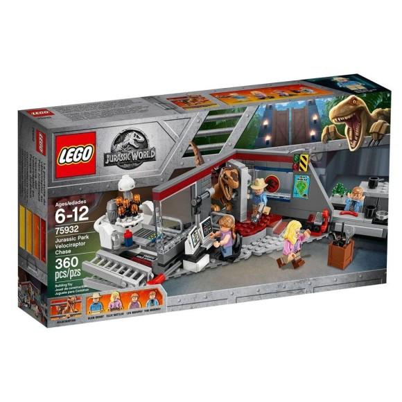 LEGO Jurassic World - 75932 - Perseguição Raptor no Parque Jurássico