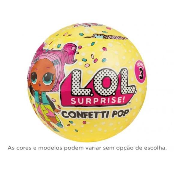 Mini Boneca Surpresa LOL Confetti Pop - Série 3