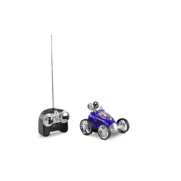 Carrinho Turbo Twist Com Controle Remoto Dtc - azul