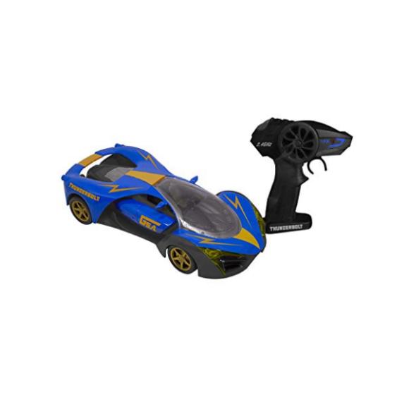 Carrinho De Controle Remoto Thunderbolt - Candide - Azul
