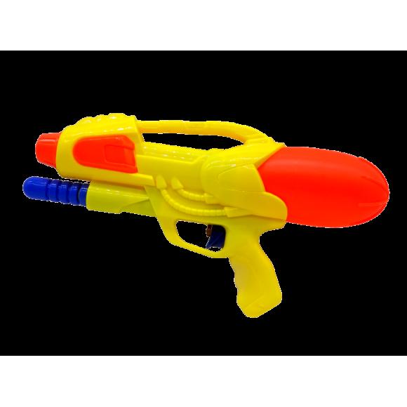 Arma de Agua - Lançador de Agua - P13586 - Amarelo/Laranja