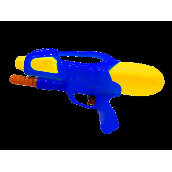 Arma de Agua - Lançador de Agua - P13586 - Azul/Amarelo