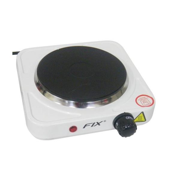 Fogao Eletrico Antiaderente Portátil Chapa 1000w 110v 1 Boca