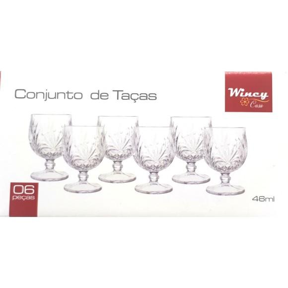 Conjunto de Taças de Licor - 6 Peças - Wincy