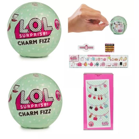 Acessórios Lol Surprise Charm Fizz - Candide
