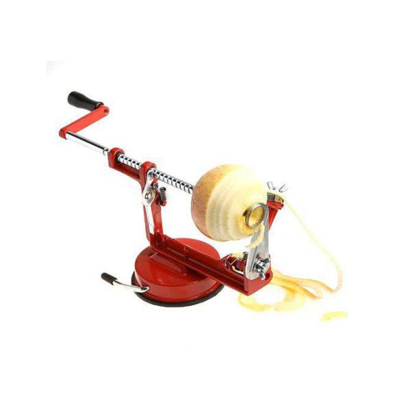 Maquina Descascador Fatiador Maça Pêra Batata - Aço Inox