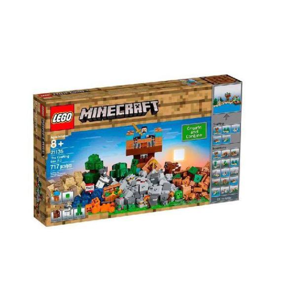 Lego Minecraft Creative Adventure Caixa Criativa 2.0 21135