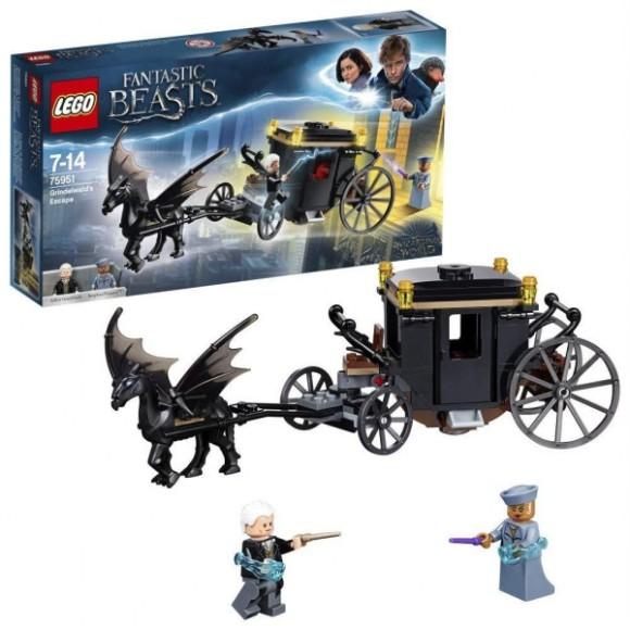 75951 - LEGO Harry Potter - Animais Fantásticos - A Fuga De Grindewald