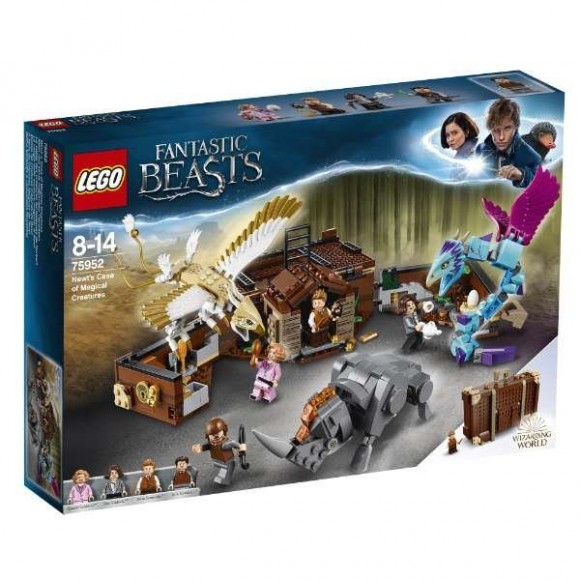LEGO Harry Potter - Animais Fantásticos - Mala De Criaturas Do Newt - 75952