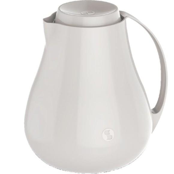 Bule Termico 750ml Bule De Café Chá Garrafa Termica Sonetto Branco